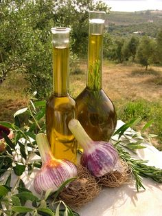 "Olive Oil And Garlic... The flavors of Greece  | ""A piece of Greece"""