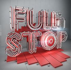 Fullstop by Mohamed Reda, via Behance
