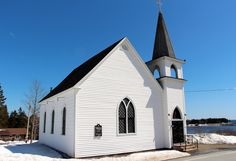 Mark's Anglican Church 7095 Highway 331 Broad Cove Concert Venues, Anglican Church, Mansions, House Styles, Beautiful, Home Decor, Decoration Home, Room Decor, Fancy Houses