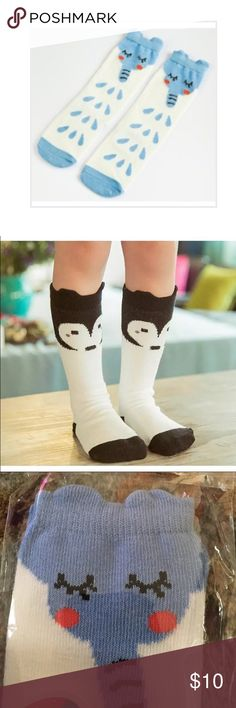 Cute long socks! Brand new socks.super cute! One for 7 or 2 for 12 Accessories Socks & Tights