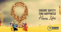 Ensure Safety Find Happiness #Letstrack wishes everyone Happy Lohri #HappyLohri #lohri #LohriSpecial