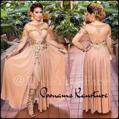 Dress Your Face Poonams Kaurture nude pajami suit