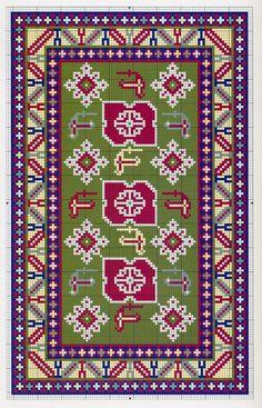 View album on Yandex. Cat Cross Stitches, Cross Stitch Charts, Diy Embroidery, Cross Stitch Embroidery, Dollhouse Miniature Tutorials, Big Rugs, African Crafts, Bead Crochet Rope, Patterned Carpet
