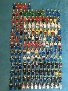 Huge Vintage 70s 80s 90s Lego Lot w Manuals for 73 Sets 161 Mini Figures | eBay