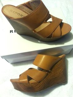 Check out New Report Footwear High Heel Wedge Shoes size 10 #REPORT #Wedges http://www.ebay.com/itm/New-Report-Footwear-High-Heel-Wedge-Shoes-size-10-/141400603518?roken=cUgayN via @eBay