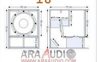 "Desain box Speaker Miniscoop 18"" dan 15"" Dan, 18th, Audio, Floor Plans, Box Templates, Box Design, Crates, Floor Plan Drawing, House Floor Plans"