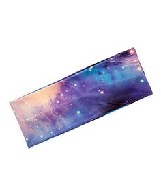Another great find on #zulily! Blue Galaxy Stretch Headband by Lux Accessories #zulilyfinds