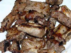 Costillas de Cerdo con Miel, Limón y especias