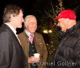 Franz Klammer 60 igster Geburtstag im Pulverer - das Geburtstagskind mit Larry Broderick und Niki Lauda