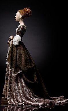 """Agnes"" Alexandra Kokinova doll. Gorgeous details, beautiful and realistic!"