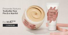 Presente Natura Tododia Noz Pecã e Karité - Desodorante Ultra-hidratante para Corpo + Creme Hidratante para Mãos + Embalagem (COD. PROD. 65804)  por R$ 47,50