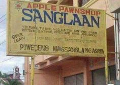 pawnshop Funny Signs, Funny Memes, Jokes, Memes Tagalog, Life Humor, Pinoy, Philippines, Funny Life, Public