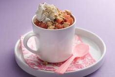 5 To-Die-For Dessert Recipes with 200 Calories or Less: 5. Red Hot Apple Pie in a Cup