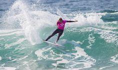 Stephanie Gilmore (AUS) #ROXYpro. Roxy Pro France 2014 www.roxy.com  #ROXYsurf www.worldsurfleague.com kirstinscholtz @Roxy   By Roxy