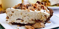 Frozen Peanut Butter Pie – Low Fat Recipe.