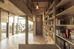 Observatory-Inspired Garage, Library And Study by Ziegler Antonin | iGNANT.de