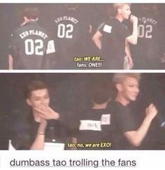 Tao is spending way too much time with chen