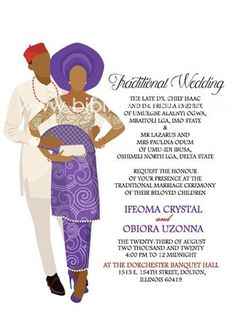 Traditional Wedding Invitations, Modern Wedding Invitations, Wedding Invitation Templates, Invitation Design, Igbo Wedding, Ghana Wedding, Ghana Traditional Wedding, Ethiopian Wedding, Digital Invitations