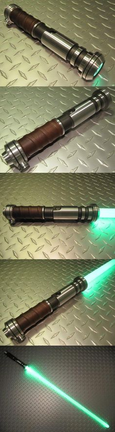 Gladius Custom LED Saber similar to star wars tor jedi fx lightsaber, From the lawless fringes of republic space, comes the Gladius. This elegant weapon is an instrument of sublime destruction, suited for the hands of a worthy master.  The hilt is machined by a professi..., #Single Detail Page Misc, #Light-Up Toys