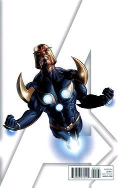 Secret Avengers #6 Nova Variant - Mike Deodato Jr.