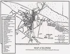 Map of Slonim, Poland Inn that family owned listed on map My Family History, Torah, Ancestry, Poland, High School, Map, Grammar School, Location Map, High Schools