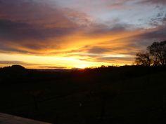 Sunsets in the Lot et Garonne
