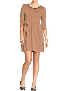 Women's Fit & Flare Sweater Dresses Product Image