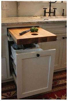 Best Kitchen Cabinets, New Kitchen, Kitchen Countertops, Hidden Kitchen, Soapstone Kitchen, Smart Kitchen, Narrow Kitchen, 10x10 Kitchen, Kitchen Modern