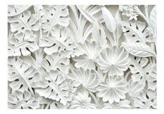 Carta da parati decorativa Giardino di alabastro - originali decorazioni murali di bimago. Carta da parati moderna Pietra è una collezione nella quale troverai motivi alla moda.