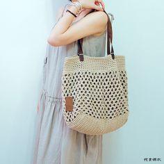 悅食錦衣女包棉麻線手工編織包鉤編單肩包後海不是海女海鷗同款包-淘寶台灣,萬能的淘寶