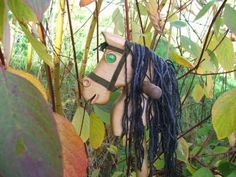 Hobby horse,hand carved solid wood.  £50.00 Hobby Horse, Green Suede, Eye Color, Light In The Dark, Hand Carved, Solid Wood, Woods, Carving, Horses