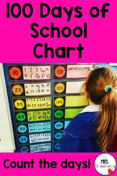 Help celebrate the 100th Day of School by counting each day of school on this 100 Days of School Chart. Kids love to write the number each day on the chart and work their way right up to the 100th day! This chart is great for practicing number recognition, number writing and skip counting. Teachers can turn this chart into a daily classroom job for students to complete. This chart is a must for back to school and is a great lead up to your 100th day of school activities later in the year.
