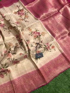 Pure organza sarees | ElegantFahionWear