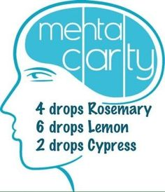 Mental Clarity essential oil mixture!  I would diffuse and put on a tissue/cotton ball. Smell before recall is needed.