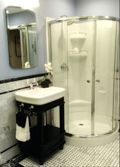 Contemporary Bathroom Design With Walk In Shower Kenwood Kitchens In Columbia Maryland