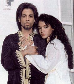 Prince and Mayte - I was jealous.  She couldn't hang anyway.