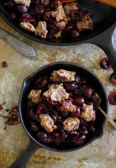 Sometimes we need a vessel in which to put all of our over-purchased fruit, and that vessel is the crumble. Slash cobbler if we're into biscuits. A couple of weeks ago (mmmhmmm, weeks, sons a…