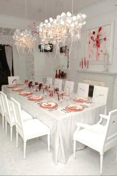 bloody halloween dinner party
