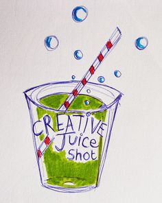 Morwhenna. The Creative Adventurer: Creative Juice January