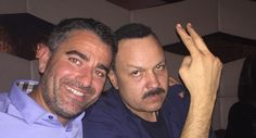 Pepe Aguilar and Michael Scafuto Hang Out After the Show - M&M Group Entertainment Pepe Aguilar, Company News, Hanging Out, Entertainment, Group, Couple Photos, Couples, Couple Shots, Couple Photography