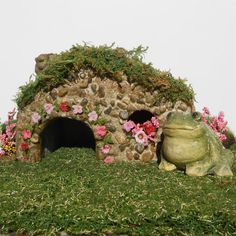 Miniature Gardens Mr. Hoppy's Toad House