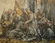 Russian civil war battle