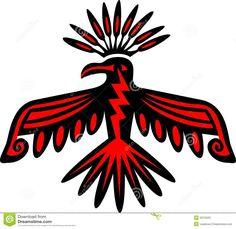 Native American Animal Spirit Guides - Thunder Bird