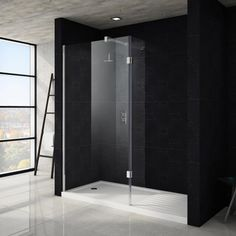 Apollo Walk In Shower Tray With Drying Area - 1700 x 800mm Profile Large Image
