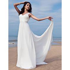 Lanting+Bride®+Ołówkowa+/+Kolumnowa+Drobna+/+Rozmiar+Plus+Suknia+ślubna+-+Klasyczne+i+ponadczasowe+/+Szykowne+i+nowoczesne+/+Wytworne+i+–+EUR+€+97.99