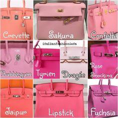 Hermes Pinks
