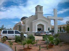 "St. John the Baptist Romanian Orthodox Church, Glendale AZ/ Biserica Ortodoxa Romana ""Sf. Ioan Botezatorul"", Glendale AZ"