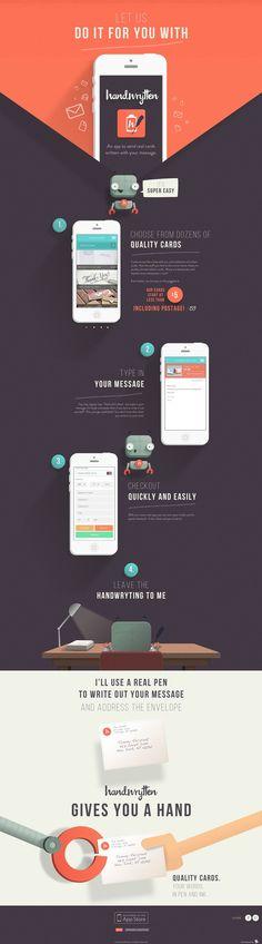 Unique Web Design, Handwrytten #WebDesign #Design (http://www.pinterest.com/aldenchong/)