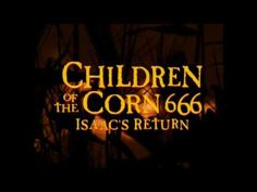 The CHILDREN OF THE CORN SERIES 4-Movie Collection has been released on Blu-ray