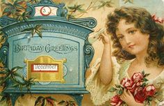 postcardiva postcard blog: Mechanical Antique Postcards